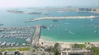 Dubai, views from Marina Crown