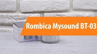 Распаковка Rombica Mysound BT-03 / Unboxing Rombica Mysound BT-03
