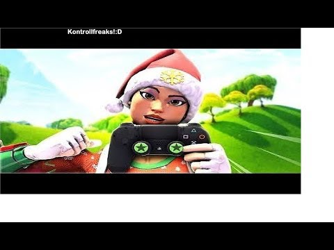 Fortnite creative w\\controller cam trying out new kontrollfreaks clean 90s (ps4) fast builder🐺