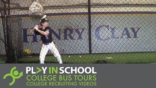 Cade Hilt   Hitting - Commonwealth Baseball Club - www.PlayInSchool.com