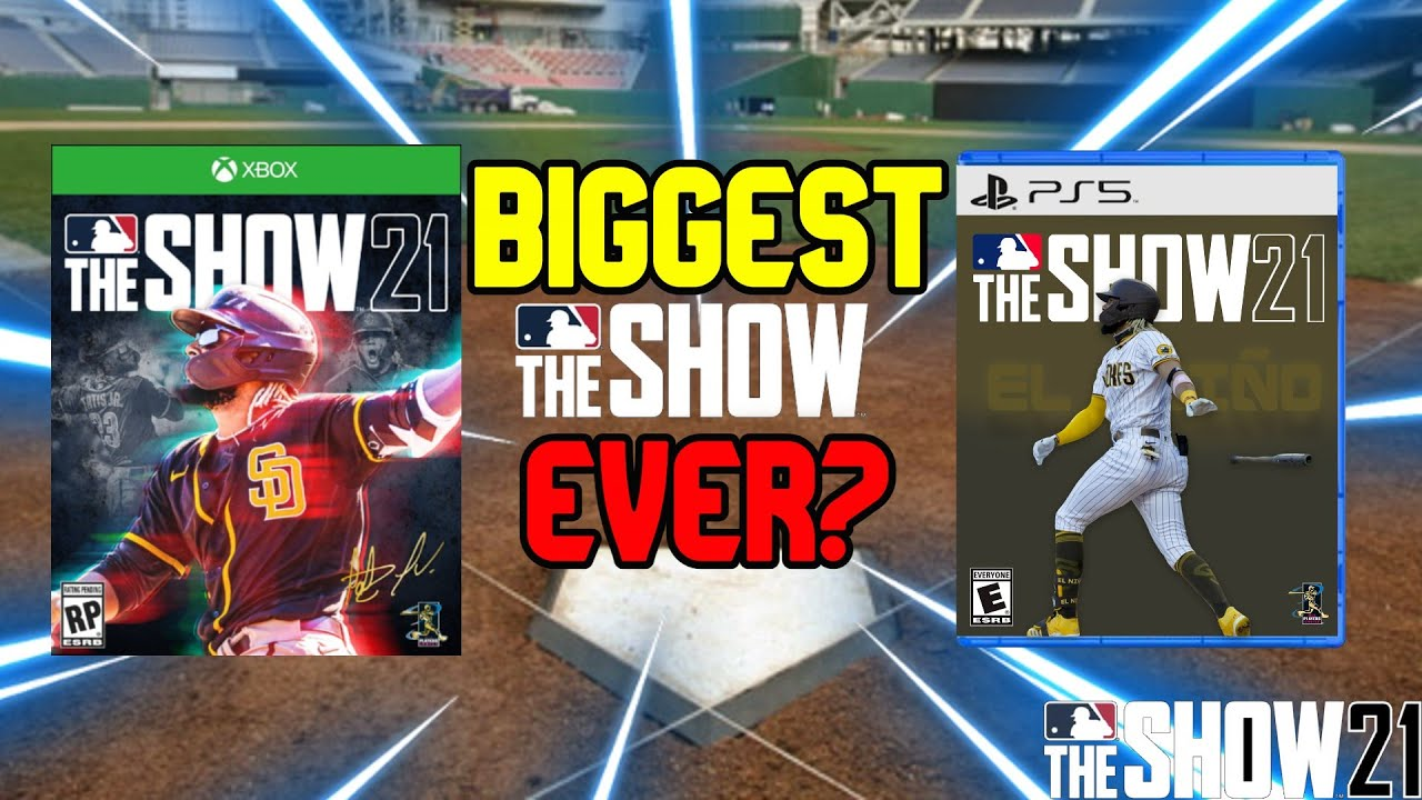 Why MLB The Show 21 could be The BIGGEST BASEBALL VIDEOGAME EVER...
