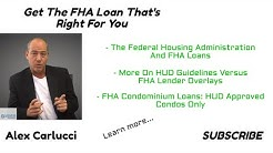 Get The FHA Loan That's Right For You | 2019
