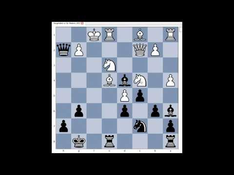 Modern Benoni: Gurgenidze vs Tal Moscow (RUS) 1957