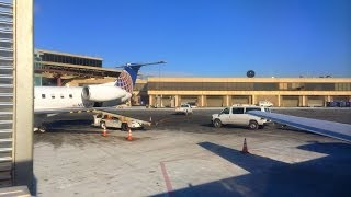 [HD] United Express Embraer ERJ-145 Superb Takeoff from Newark Liberty International Airport