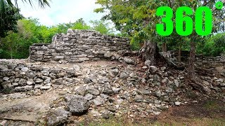 Cozumel, Mexico 360˚ - Mayan Ruins - Murcielagos