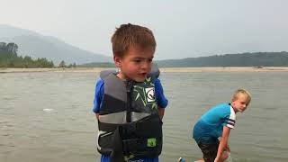 Fishing fun on the Fraser river