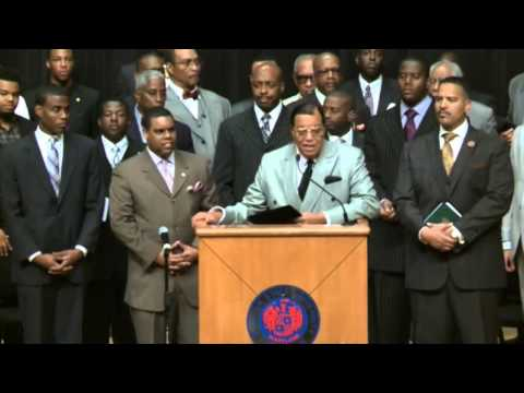 """""""We'll Tear this God **** Country up!"""" Farrakhan's FULL Statement: What the Media Won't Show You."""