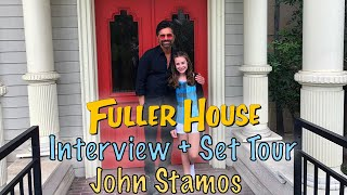 My Interview and Fuller House Set Tour with JOHN STAMOS!!!