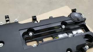 Very common PCV vacuum leak 08-16 chevy Cruze  replacement of valve cover DTC P0171