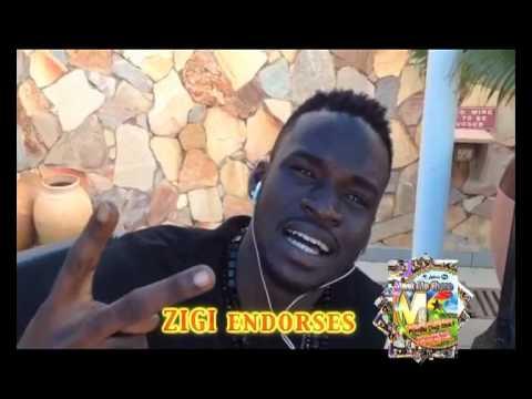 ZIGI & KK FOSU endorses MEET ME THERE 2012 LIVE!!!!!!!!!