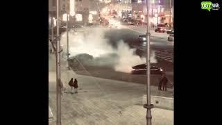 Видео опасного дрифта в центре Харькова