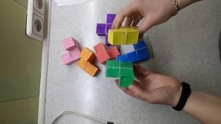 DIY: Кубики Никитина, кубики для всех из бумаги.
