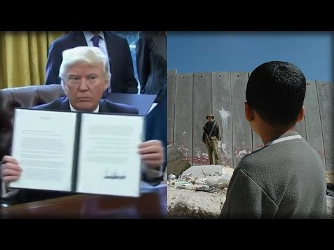 HERE COMES THE WALL! THANKS TO HUGE THING TRUMP DID THIS MORNING, THE WALL BEGINS TODAY!