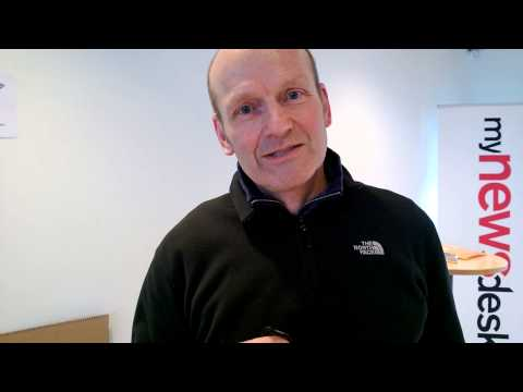 Nokia video question of the day at Dansk Design Center - Social Media Week Copenhagen