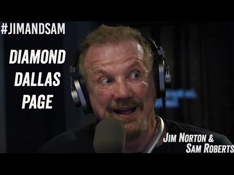 Diamond Dallas Page - Ultimate Warrior & Nancy Grace, Dyslexia, WWE - Jim Norton & Sam Roberts