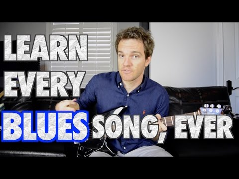 Learn Every Blues Song Ever in 8 Minutes