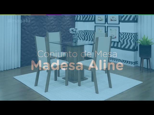 Conjunto de Mesa Madesa Aline