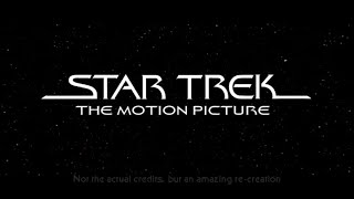 Star Trek The Motion Picture Opening Credits (cover)