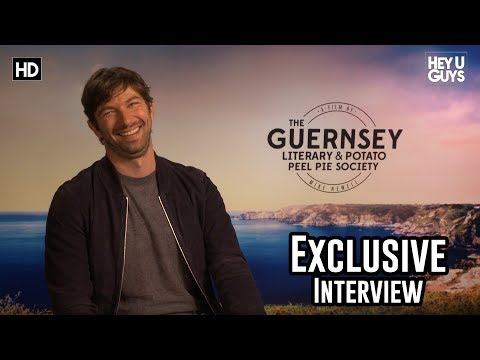Michiel Huisman on being inspired by The Guernsey Literary and Potato Peel Pie Society
