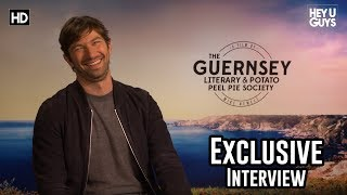Michiel Huisman on being inspired by The Guernsey Literary and Potato Peel Pie Society Interview