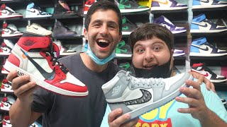 JONAH & Josh Peck Go Shopping For Sneakers With CoolKicks