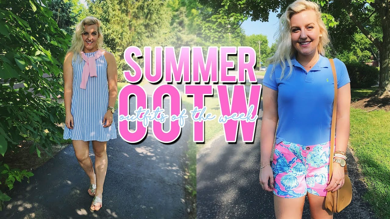 910185b75e6 SUMMER OUTFITS OF THE WEEK! (June 2018 OOTW) 5 OUTFIT IDEAS ...