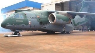 Embraer - KC-390 Military Transport Aircraft Rollout [1080p]