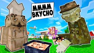 Майнкрафт но СЛОМАННЫЙ МОД на игру МАЛЕНЬКИЕ КОШМАРЫ в Майнкрафте Троллинг Ловушка Minecraft