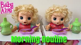 Baby Alive Morning Routine