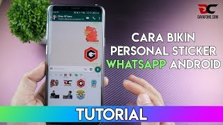 Download Video TUTORIAL : Cara Buat Personal Sticker di WhatsApp Android MP3 3GP MP4