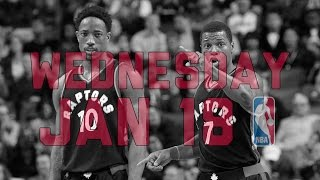 Repeat youtube video NBA Daily Show: Jan. 18 - The Starters