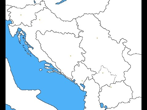 Blank map of former yugoslavia speed map youtube blank map of former yugoslavia speed map gumiabroncs Choice Image