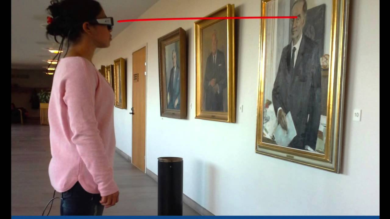 Inferring User Attention Using Eye-tracking Glasses