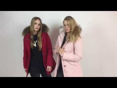 new style 5098e 49fe3 Matogla Arctic Winter Parka / Damenjacke Rot, Rosé - YouTube