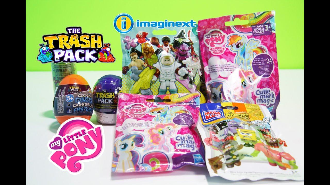 Trash Packs Surprise Eggs My Little Pony Blind Bags