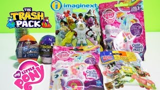 Trash Packs Surprise Eggs My Little Pony Blind Bags Imaginext Series 4 Opening And Unboxing