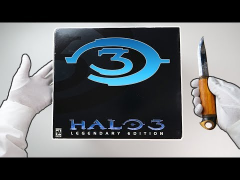 HALO 3 Legendary Edition Unboxing! + Halo Live Concert By Game Music Collective