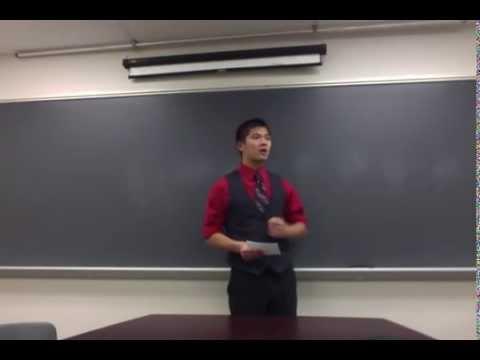Commemorative Speech Example