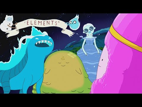 Elements Miniseries Mega Adventure Time S9E2–9