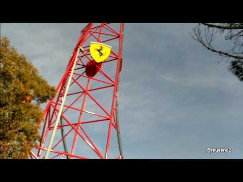 Ferrari Land Test De Red Force En PortAventura World YouTube - Reduction port aventura