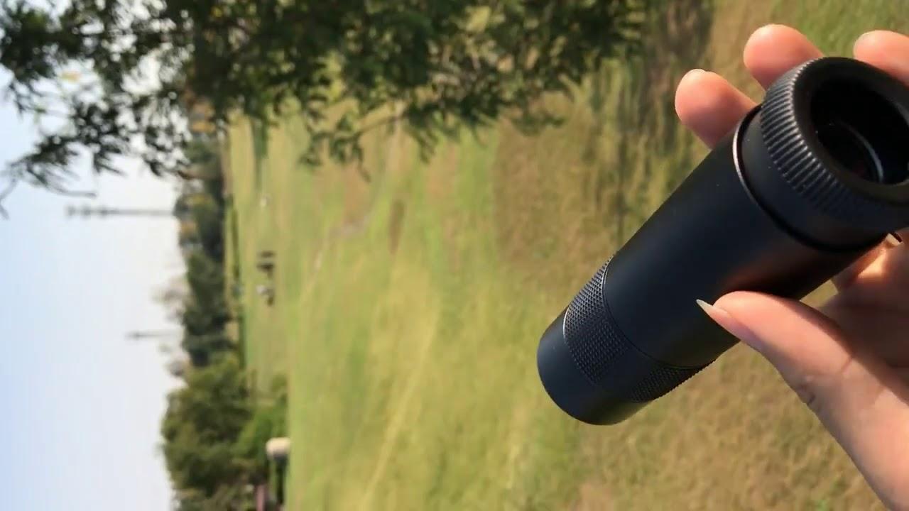 Zoin monocular telescope for mobile youtube