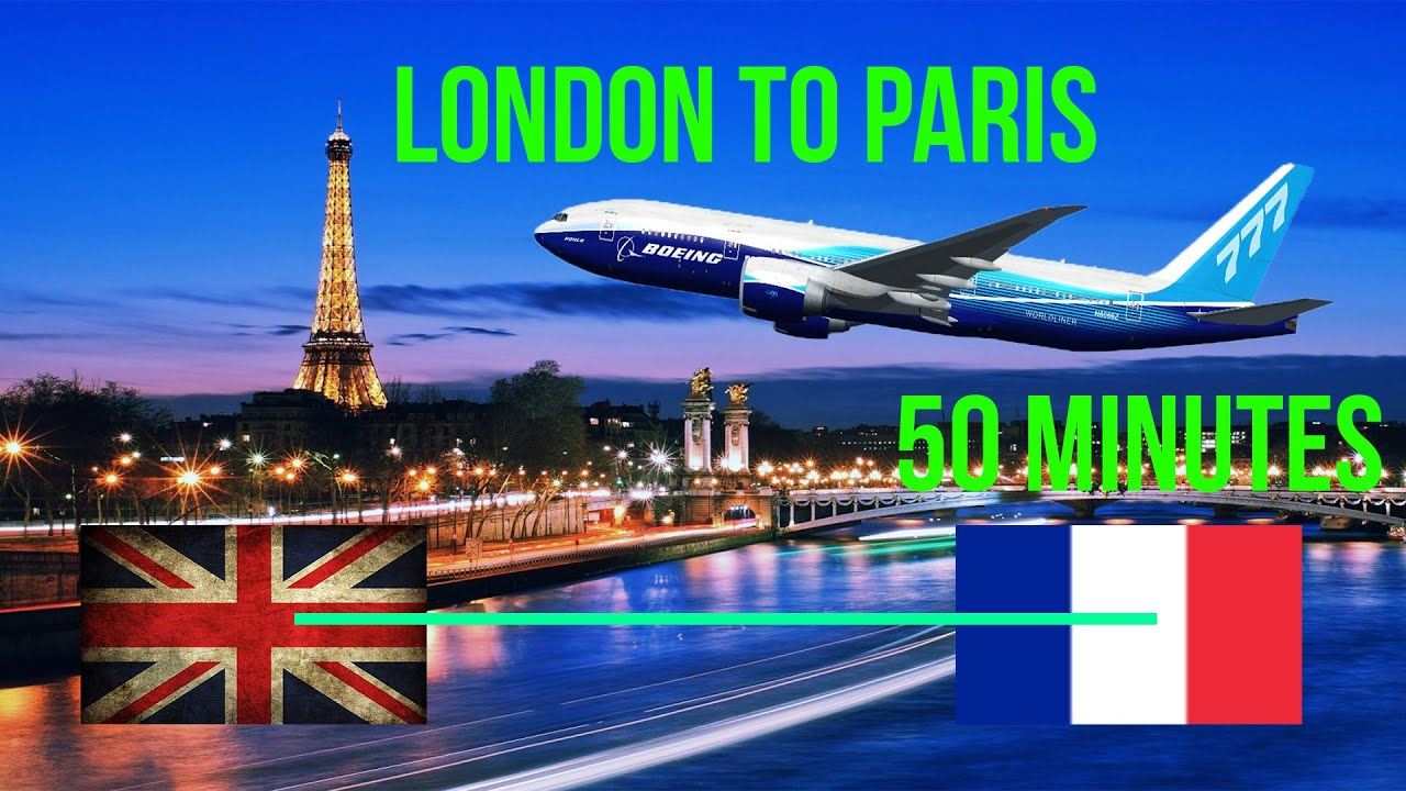 how to get from paris to london heathrow