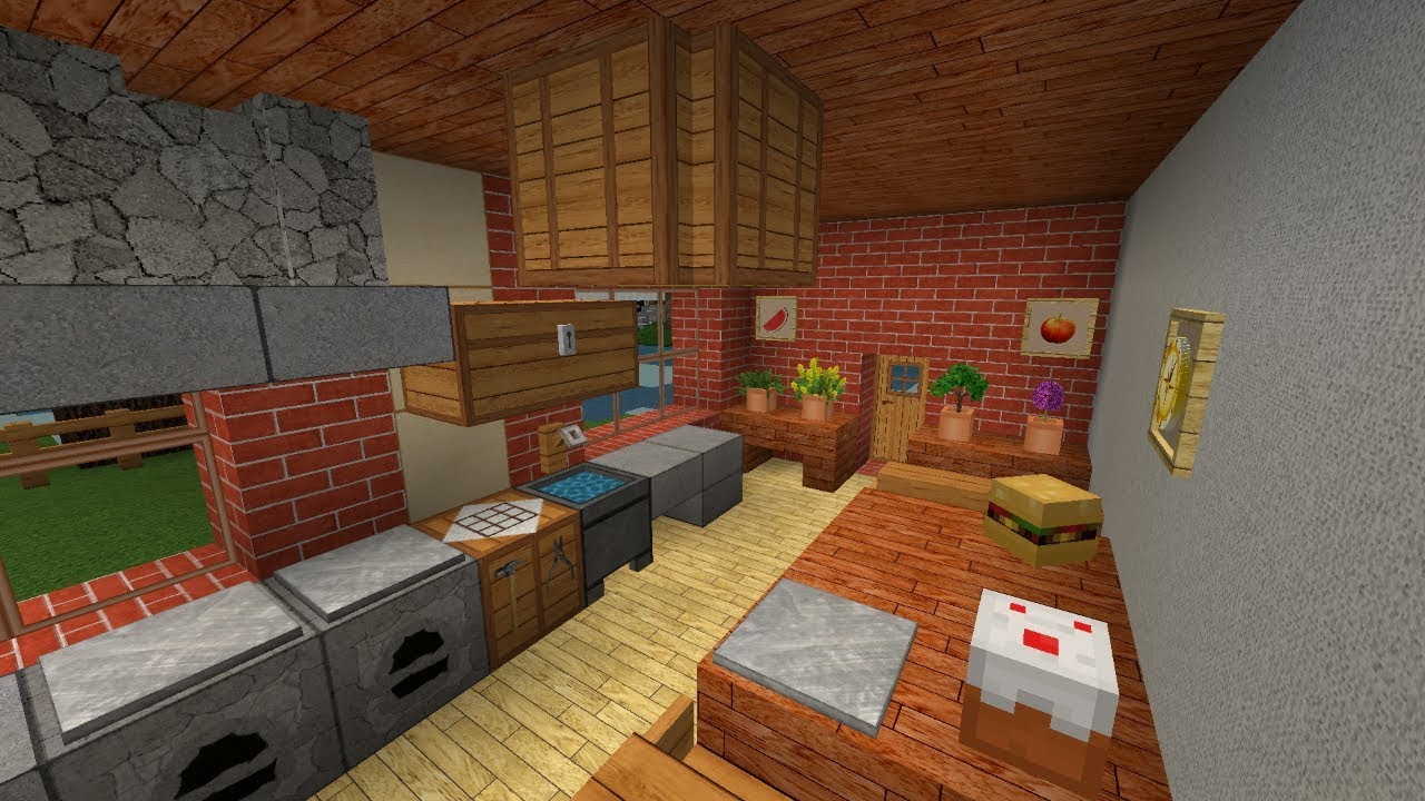 minecraft baututorial 1 moderne h user einrichten. Black Bedroom Furniture Sets. Home Design Ideas