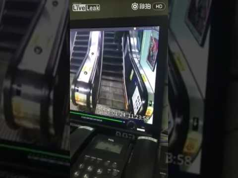 One of the richest men in Taiwan fell & died while looking At his mobile phone on the escalator