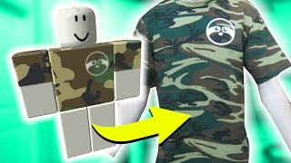 HOW TO TURN A ROBLOX SHIRT INTO REAL LIFE!!