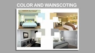 What Color Should I Paint A Bedroom With Wainscoting? : Interior Decoration