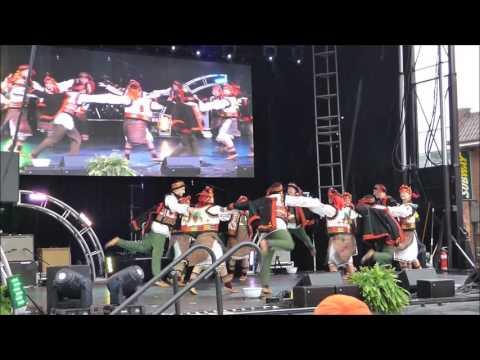 2016 Ukrainian Festival on Bloor - Hutsul Kolomyka from Yavir ensemble