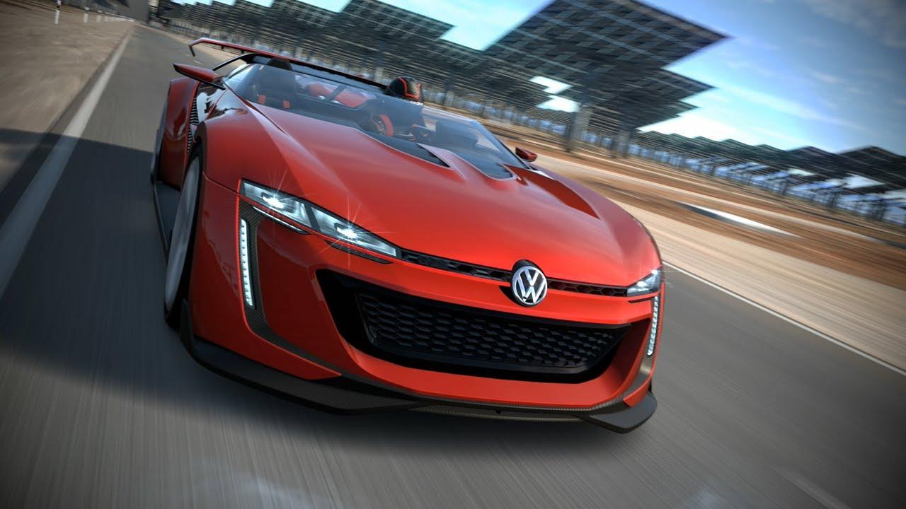 Volkswagen Gti Roadster Vision Gran Turismo Inside Movie Youtube