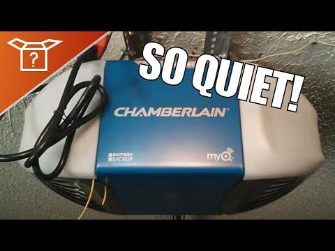 Chamberlain Whisper Quiet Belt Drive Versus Genie Doovi
