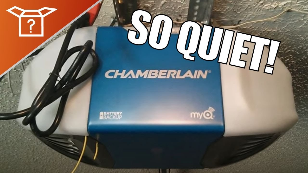 Chamberlain 1 14 Hp Garage Door Opener Review Youtube